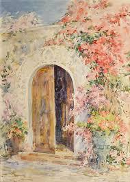 open door painting. Open Door Painting