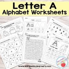 Alphabet Worksheets Letter A | alpha | Pinterest | Alphabet ...