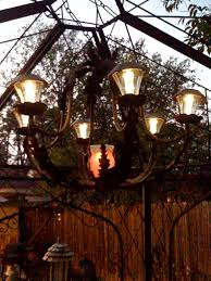 solar outdoor chandeliers for gazebos chandelier designs pertaining to decor 12
