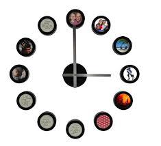 how to diy creative photo frame wall clock 4