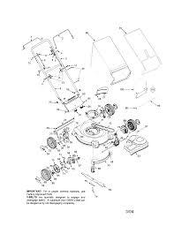 Bolens model 12a 446t163 walk behind lawnmower gas genuine parts