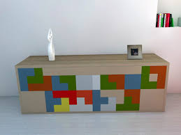 tetris furniture. obviously inspired by the tetris game furniture