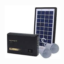 3w solar panel lighting kit dc emergency led light for home