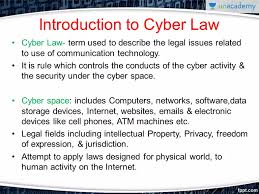 Cyber Law Introduction Of Cyber Law In Marathi
