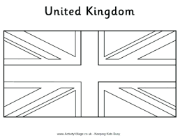 Approved British Flag To Colour Imagination Coloring Page Pages Uk