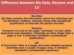 Cv Meaning For Resume Elegant Resume Difference Between Cv And