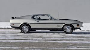 1971 Ford Mustang Mach 1 Fastback | F251.1 | Indy 2015