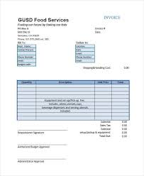 Catering Invoice Example Free 8 Catering Invoice Examples Samples In Google Docs