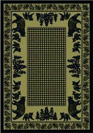 rustic cabin lodge area rugs great place ca