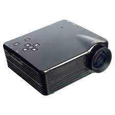 tv receiver. mini portable projector led 400 lumens with analog tv receiver and sd card support 320x240px tv e
