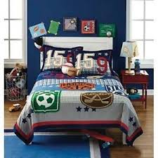 Circo Game On Sports Full/Queen Size Quilt Bedding Football Hockey ... & Image is loading Circo-Game-On-Sports-Full-Queen-Size-Quilt- Adamdwight.com