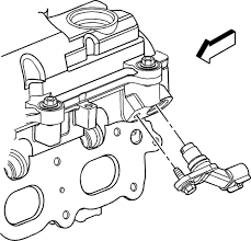 ford truck expedition wd l fi sohc cyl repair guides camshaft position cmp sensor location for intake 2 2l 2 4l engine
