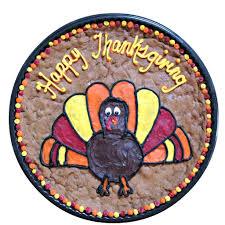 Message Cookie Designs Amazon Com The Great Cookie 13 Inch Turkey Design