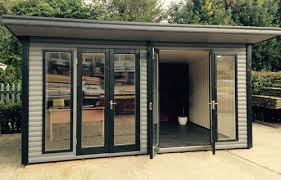 building a home office. Quality Wooden Garden Office Building In Hinckley, Leicestershire A Home R