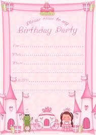 birthday invitations kids birthday invite template invite card 1st birthday invitation templates printable