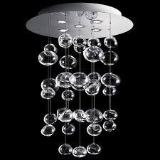 murano due ether s glass drop chandelier