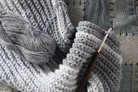 Mens Scarf Crochet Pattern Custom Men's Winter Scarf Free Crochet Pattern