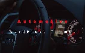 10 Best Automotive Wordpress Themes For Car Dealership