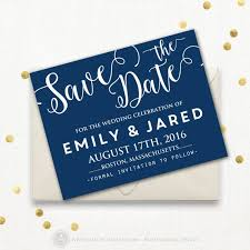 Save The Date Cards Template Printable Save The Date Card Template Navy Dark Blue Indigo Cobalt Royal Blue Any Olor Wedding Save The Date Postcard Instant Download