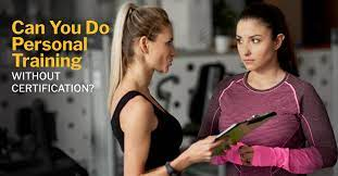 personal training without certification