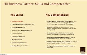 ... 9. creative HRM HR Business Partner: Skills and Competencies Key ...