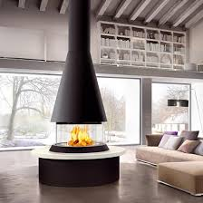the marvik is part of the unique panoramic collection of fireplaces by italian stove makers piazzetta open fireplacefireplace designfireplace