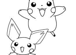 Pokemon Pikachu Ex Coloring Pages Page Printable Haljinezamaturu