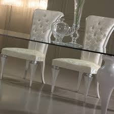 glass dining room set. High End Luxury Italian Glass Dining Table Set Room A