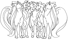 Small Picture Horseland coloring pages to download and print for free