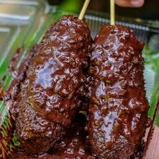 Sate pisang oreo pisang 5 sdm tepung terigu 1 sdm mentega susu (skm air) tepung roti glaze mocca oreo #pisang. Resep Sate Pisang Coklat Crispy