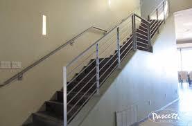 steel stair railing. Sleek Steel Stair Railings. « Railing
