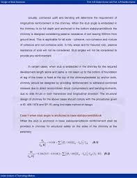 Design Steps Of Steel Chimney Design Of Steel Structures Prof S R Satish Kumar And Prof