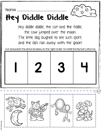 Free Rhyming Worksheets For Preschool Schlitt
