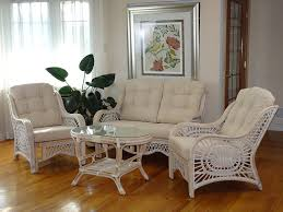 Amazon Com Malibu Rattan Wicker Living Room Set 4 Pieces 2 Lounge