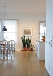 in artist chuck close s kitchen in long beach new york recessed lights three