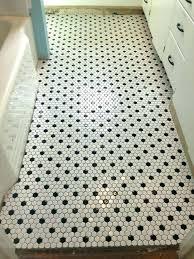hexagon tile bathroom floor black and white hexagonal tiles small f hexagon porcelain floor tile