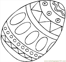 Small Picture Awesome Easter Egg Coloring Pages Free Printable Gallery New