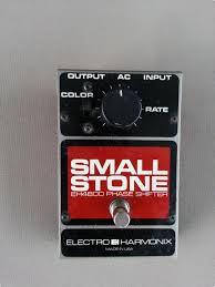 Ehx Small Stone New Design Electro Harmonix Small Stone Eh4800 Phase Shifter 1989 Black