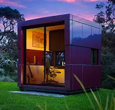 prefab garden office. a outdoor garden studio that shines prefab office e