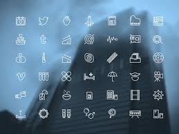 creative furniture icons set flat design. Presentation Design Tips - Free Icons For Business Presentations Swifticons Creative Furniture Set Flat
