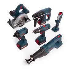 Bosch 18v Light Bosch 0615990k9c 18v Light Series Professional Heavy Duty 6 Piece Kit 3 X 4 0ah Batteries