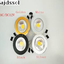 The Bright Spot Lighting Us 3 2 50 Off Led Downlight Light Super Bright Spot Light Dimmable Cob Ceiling 3w 5w 7w 12w Ac Dc12v Led Recessed Lights Indoor Lighting In
