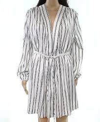 Shimera New Black White Womens Size Xs Knit Notch Collar
