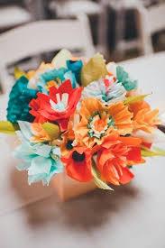 Wedding Paper Flower Centerpieces Paper Flower Centerpiece Homedecor2uall Club