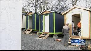 Small Picture Seattles first tiny house village for homeless to open this week