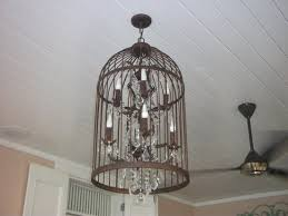 kaffe birdcage chandelier decor