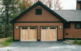 barn garage doorsBarn Style Garage Doors Designed by Builder to Match the Existing