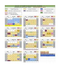 School Calendars 2018 2019 Mount Desert Island Regional