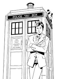 Small Picture Doctor Who Coloring Pages GetColoringPagescom