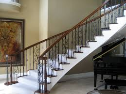 Interior Stair Railing Ideas Kits Green Home Design Intended For ...